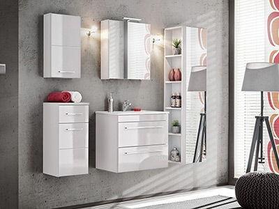Twist- nowoczesny styl i funkcjonalność białych mebli łazienkowych